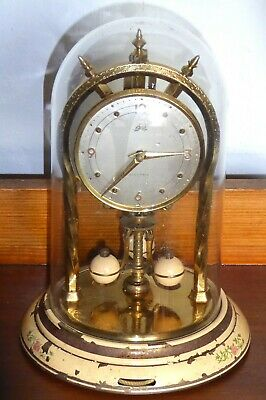 Vintage electric-powered anniversary clock by Schatz, spares or repairs