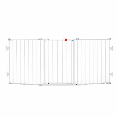 Regalo Flexi Gate Extra Wide Metal Walk Through Safety Baby Gate (Used)