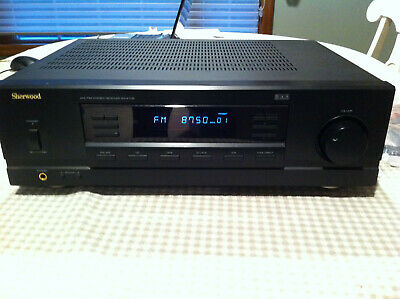 Sherwood RX 4105 2 Channel 100 Watt Receiver AM/FM Digital Remote AM/FM Bundle