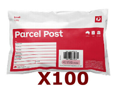 100x 500g Australia Post Parcel Post Satchel Prepaid Bag Tracking AUSPOST