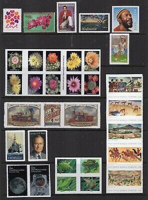 US 2019 COMPLETE NH COMMEMORATIVE YEAR SET 97 Stamps (not 96) - Free USA Ship