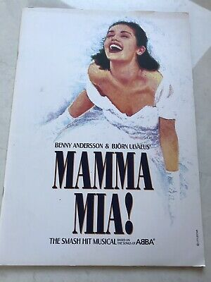 Mamma Mia! Musical Prince Of Wales Theatre London Programme 2010