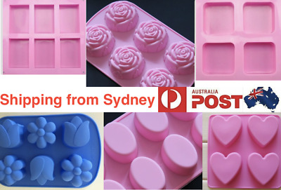 Various Silicone Soap Mold Candle Mould Multiple Options Buy More And Save