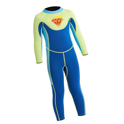 2.5mm Children Thermal Swimsuit Long Sleeve Kids Wet Suits for Water Sports
