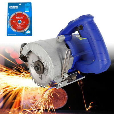 1100W Electric Cutting Slotting Grooving Machine Cutter Saw for Wood/Stone/Metal