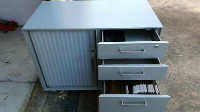 Filing cabinet with drawers and storage