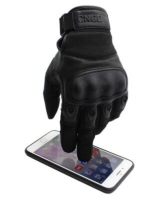 Full Finger Riding Cycling Combat Hunting Shooting Tactical Hard Knuckle Gloves