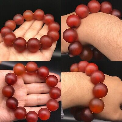 Wonderful Burma Antique Amber Lovely bracelet 57gr