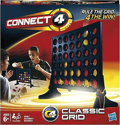 Connect 4 Classic Grid Game 6+