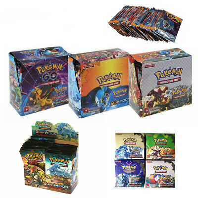 324pcs Cards Pokemon TCG Booster English Edition Break Point 36Packs Xmas Gift..