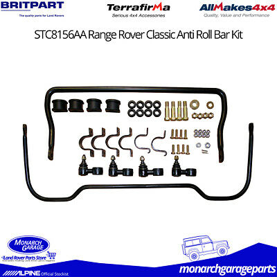 Range Rover Classic Uprated Anti-Roll Sway Bars Kit & Fittings STC8156AA