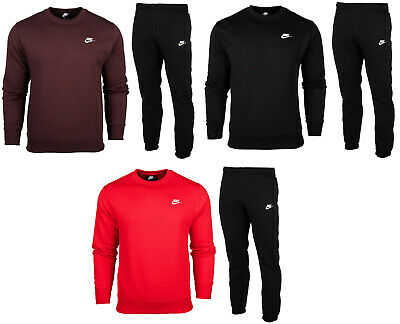 Nike Mens Club Crew full top bottoms pants sweatshirt joggers