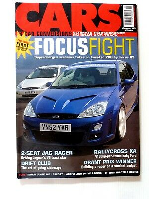 CARS & CONVERSIONS Magazine August 2003