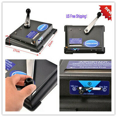 Cigarette Rolling Machine Electric Automatic Injector Maker Tobacco Roller#Black