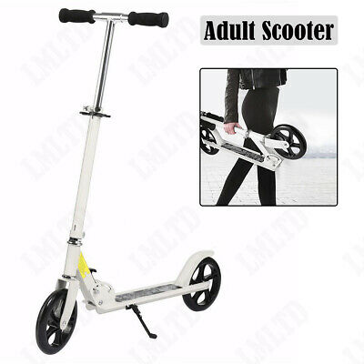Ancheer Adult Folding Kick Scooter Sport Portable Adjustable 2 Wheels Board