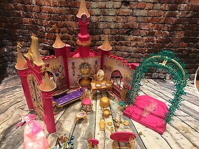 barbie doll sized disney princess musical castle playset accessories simba