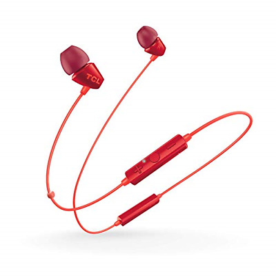 TCL SOCL100BT Wireless In-Ear Headphones with Mic Bluetooth 4.2, 6 hours Battery