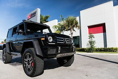 2017 Mercedes-Benz G-Class G 550 4x4 Squared 2017 MERCEDES-BENZ G550 4X4 SQUARED - VERY WELL MAINTAINED