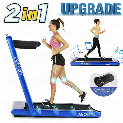 ANCHEER 3.25HP Treadmill Folding Electric Power Jogging Fitness Running Machine.
