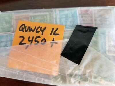 2400 Quincy, IL Illinois Precancel Precanceled  Unchecked old collection DLE