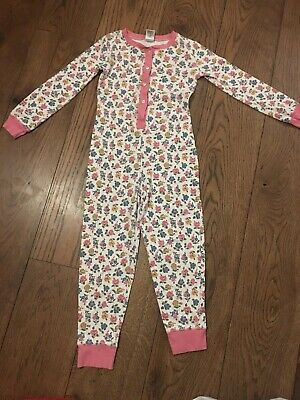 Girls Mini Boden All In One Sleepsuit Age 8 Years