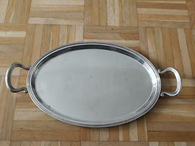 600 Gram 800 Solid Silver Plate - Serving Tray
