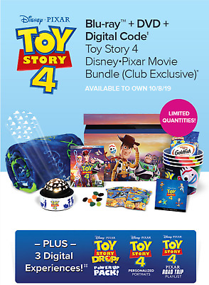 Toy Story 4 DMC Limited Gift Box Bundle New and Factory Sealed Free Shipping USA