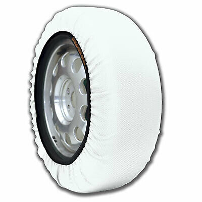 Auto Tire Snow Socks Alternative to Tire Chains Traction for Cars SUVs Size 66