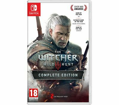 NINTENDO SWITCH The Witcher 3: Wild Hunt - Complete Edition - Currys