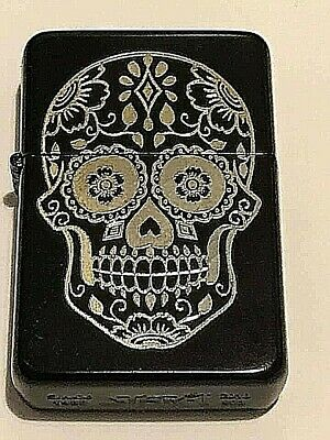 day of dead punk gothic engraved Star Lighter Personalised Gift ideal present