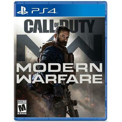 Activision Call of Duty: Modern Warfare, PlayStation 4