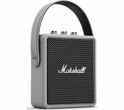 MARSHALL Stockwell II Portable Bluetooth Speaker - Grey - Currys
