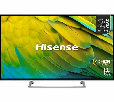 "HISENSE H55B7500UK 55"" Smart 4K Ultra HD HDR LED TV - Currys"