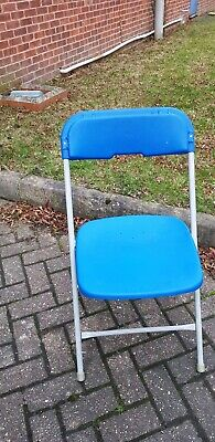 McCourt folding stackable metal frame Chairs, ideal catering,  conferences etc.