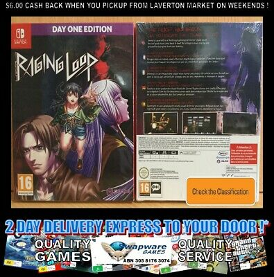 Raging Loop Day One Edition Nintendo Switch UK/AUS SEALED EXPRESS