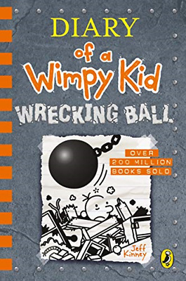 Jeff Kinney Diary of a Wimpy Kid Wrecking Ball (Book 14) ~ Hardcover ~ Brand New