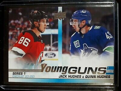 2019-20 Upper Deck Series 1 Young Guns *You Pick From List *Complete Your Set
