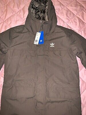 ADIDAS MEN'S COATED Parka Jacket Neo Winter Hooded Coat