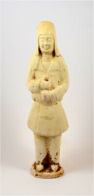 China- Sui Dynasty- Large terracotta figure of a guardian