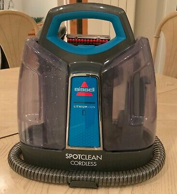 Bissell Spotclean Cordless - For Carpets and Upholstery Spot Cleaning Used Twice