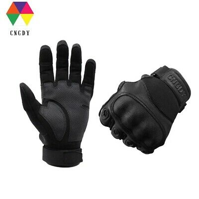 Combat Hunting Shooting Tactical Hard Knuckle Full Finger Riding Airsoft Gloves