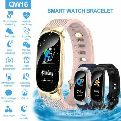 Waterproof Smart Bracelet IP67 Heart Rate Blood Pressure Fitness Tracker Watch
