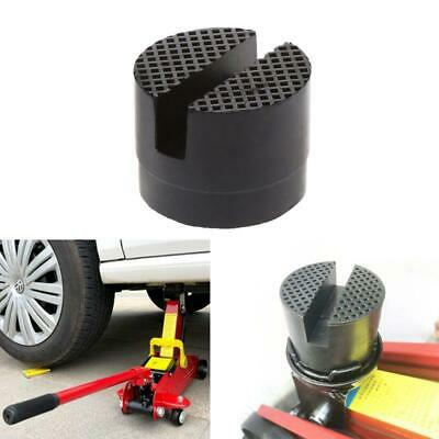 Floor Slotted Universal Car Jack Disk Rubber Pad Anti-slip Rail Adapter Support