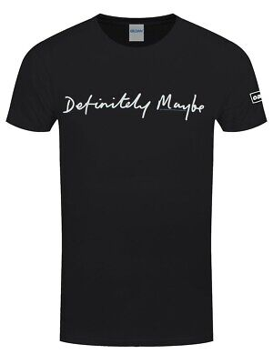 Oasis T-shirt Definitely Maybe Men's Black