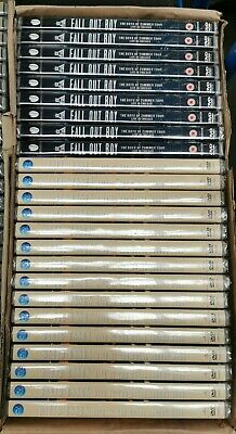 Mixed DVDs (Job Lot Wholesale x24) New & Sealed DVDs Fallout Boy / David Essex