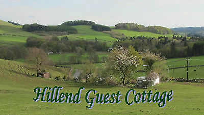 Moffat Scotland 6th to 13th March 2020 Self Catering Accommodation 7 Nights