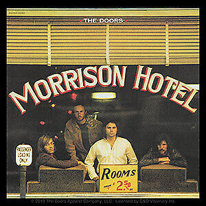 "DOORS MORRISON HOTEL - Orignal Artwork Vinyl - Decal STICKER - 4"" x 4"""