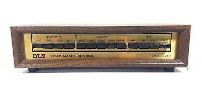 DLS Video Master Control Model 210 Vintage AV Control Switch