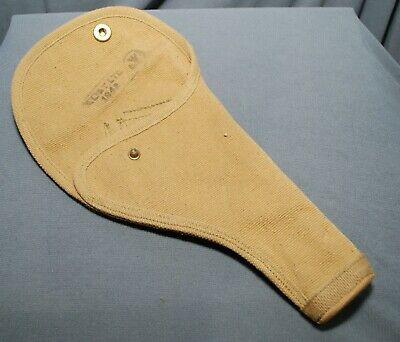 New Unissued Canadian Army Wwii P37 37 Pattern Webley Mk6 Holster Zl&T 1943 Ww2