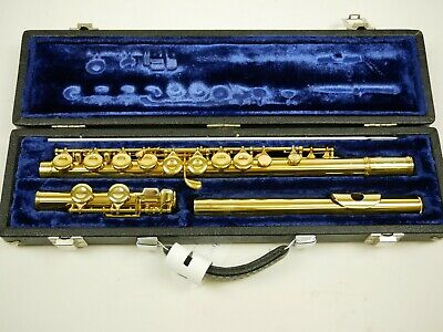 Flute King 24K Gold plated Overhauled almost like New